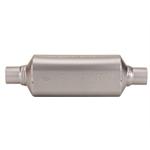 Flowmaster 12012400 Hushpower II 409 Muffler, 2 Inch I.D.-12 Inch Case