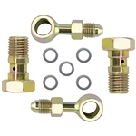 Banjo Brake Fitting Kit, 3/8-24 to -4 AN