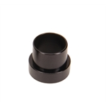 Aluminum Black Tube Nut Sleeve, -10 AN, 5/8 Inch