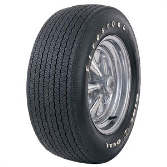 Coker Tire 62480 Firestone Wide Oval Tire Rwl F60 15