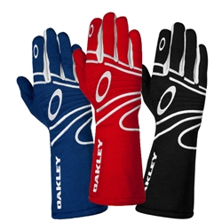 Oakley Red Racing Gloves, Small SFI/FIA 3.3/5, Fire-Resistant