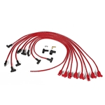 Taylor Cable 76240 8mm Spark Plug Wires-Solid Core-Under Headers-90  -Red