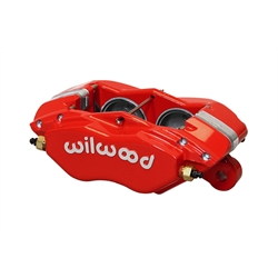 Wilwood 120-13529-RD Forged Dynalite-M Disc Brake Caliper, Red