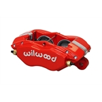 Wilwood 120-13529-RD Forged Dynalite-M Disc Brake Caliper, Red