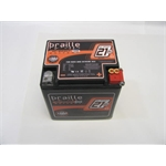 Garage Sale - Braille Carbon Fiber 12 Volt Battery, 550 CCA