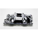 Garage Sale - Edelbrock 75014 RPM Air-Gap S/B Chevy Intake Manifold, Endurashine