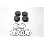 Garage Sale - Mahle Ford 2.3 Powerpak Pistons, Flat Top, 5.7 Rod, .030 Oversize