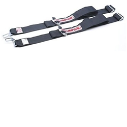 Garage Sale - Simpson Individual Shoulder Harness - Latch and Link, Black