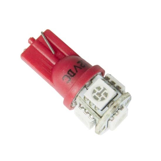 Auto Meter 3284 LED Replacement Gauge Light Bulb, Red