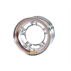 Bassett 55SR5BC 15X15 Wide-5 5 Inch BS Chrome Beaded Wheel