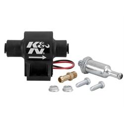 K&N Engineering 81-0401 Inline Fuel Pump, 25 GPH, 1.5-4 PSI