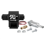 K&N Engineering 81-0401 Inline Fuel Pump, 25 GPH, 1.5-4 PSI