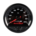 Longacre 46540 Stepper Motor Racing Gauge, Oil Pressure