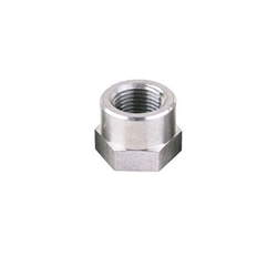 Threaded Aluminum Weld Bung Fitting, 1/2 Inch NPT Female