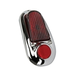 1949-1950 Chevy Chrome Tail Light Assembly, RH (Passenger) Side
