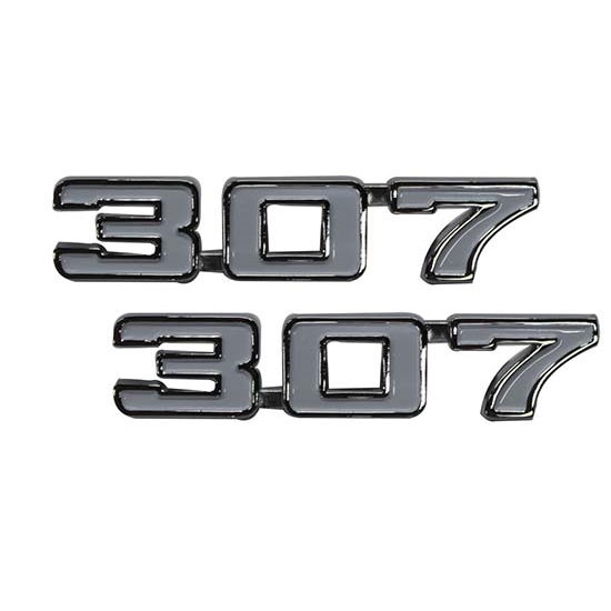 Classic Headquarters W-410 307 Fender Emblems, 69 Camaro/70-74 Nova