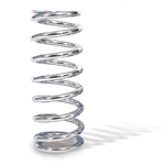 AFCO 27350-1CR 7 Inch Extreme Chrome Coil-Over Spring, 350 Rate