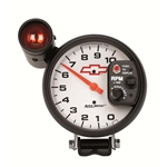 Auto Meter 5899-00406 GM White Air-Core Pedestal Tachometer Gauge
