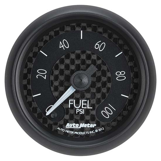 Auto Meter 8063 GT Digital Stepper Motor Fuel Pressure Gauge