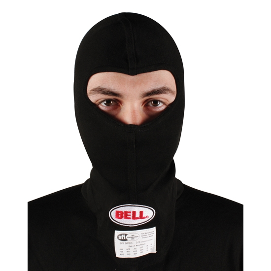 Bell Inner X Carbon Hood Sock, Single Eye Port