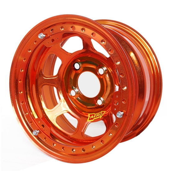 Aero 33-984530ORG 33 Series 13x8 Wheel, Lite 4 on 4-1/2 BP 3 Inch BS