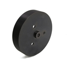 "Weiand 90830 174 PowerCharger Pulley Crank 10-Rib 7"" Diam BBC"