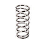 Mustang II-Pinto Stock Diameter Coil Spring - Chrome