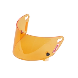 Simpson 88204A Shield for V-Sport & Voyager Helmets, Amber Shield