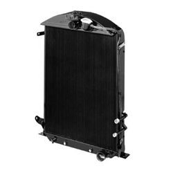 Walker C-Ac491-2 Cobra 1932 Ford Radiator w/ AC Condenser-Chevy Engine