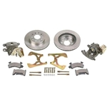 GM 10 & 12 Bolt Bolt-On Rear Disc Brake Kit w/ E-Brake