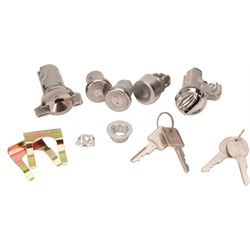 Classic Auto Locks CL-747 Door/Trunk Lock Kit, 74-77 Camaro/Firebird