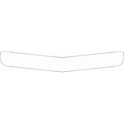 OER 3957061 4-Piece Standard Grille Moldings for 1969 Camaro