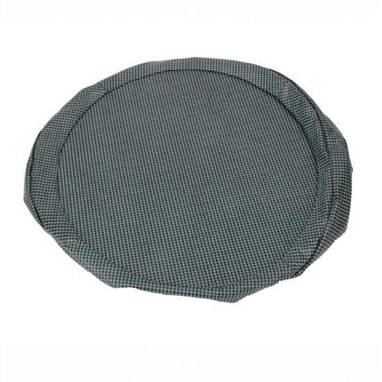 REM Automotive CA-161 14 Spare Tire Cover Aqua/Houndstooth