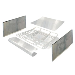HRP VFT6550-200 Sprint Dish Wing Standard Side Boards, 2-1/2 Inch Dip