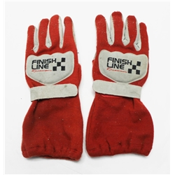 Garage Sale - Finishline Racing Gloves, Double Layer, XL