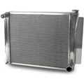 AFCO 80127NPZ GM Pol. Performance Aluminum Radiator, 24-1/4 x 19 Inch