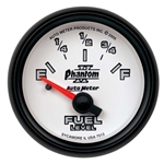 Auto Meter 7513 Phantom II Air-Core Fuel Level Gauge, 2-1/16 Inch