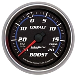 Auto Meter 7901 Cobalt Mechanical Boost/Vacuum Gauge, 2-5/8 Inch