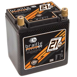 Braille B3121C Carbon Fiber Battery, 550 CCA