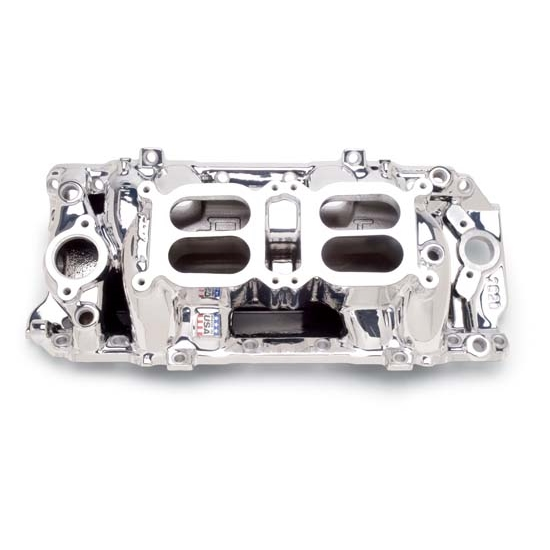 Edelbrock 75204 RPM Air Gap Dual-Quad Intake Manifold, BB