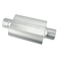 Flowmaster 40 Series Delta Force Muffler, 3-1/2 Inch Inlet/Outlet