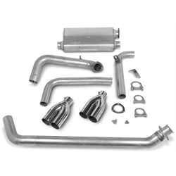 Hooker 16820HKR Cat-Back Exhaust System, Natural Finish