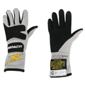 Impact Racing JG4 Junior Racing Gloves - Titanium