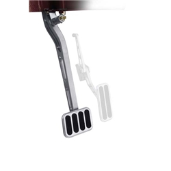 Lokar BCA-9501 90 Billet Alum Direct Fit Auto Brake Pedal Arm, XL Pad