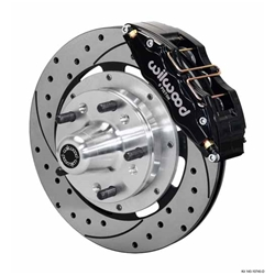 Wilwood 140-10740-D DP6 Front Disc Brake Kit, 1962-72 Mopar B/E-Body
