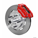 Wilwood 140-13344-R DP-DB Pro Series Front Brake Kit, 1965-69 Mustang