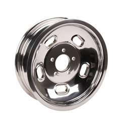 Circle Racing Wheels Gasser Alloy Kidney Bean Wheels, 15 x 4.5 Inch