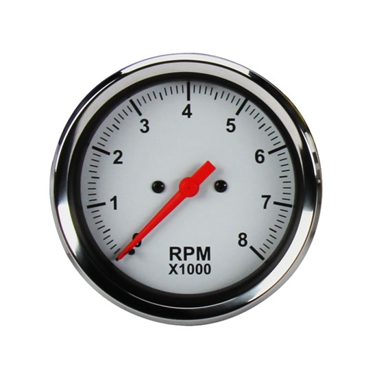 Speedway 3 3 8 inch electric tachometer gauge for Tachometer for electric motor