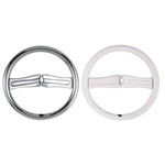 Chrome Steering Wheel-  Awesome Product- Quick Shipping