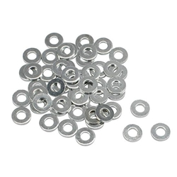 Steel 7/16 Inch AN7 Washers, 50 Pack